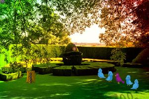 《逃离翠绿的花园》游戏画面1
