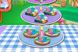 多彩饼干烹饪