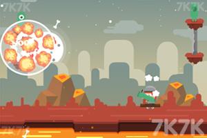 《炮轰外星小怪》游戏画面5