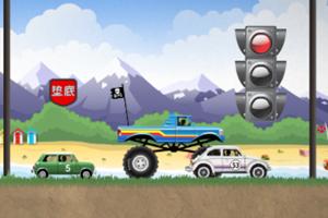 《狂暴飞车中文版》游戏画面1