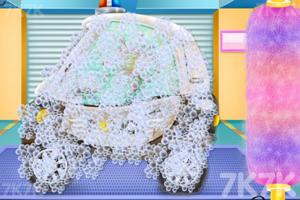 《迷你警车清洗》游戏画面2