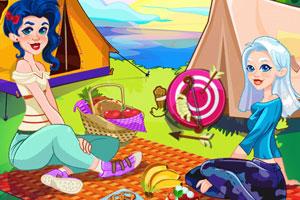 《女孩的露营》游戏画面1