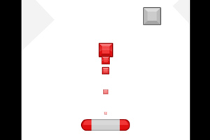 发射红色小方块