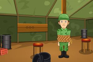 《营救大兵瑞恩》游戏画面1
