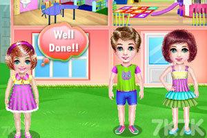 《幼儿园清洁》游戏画面1