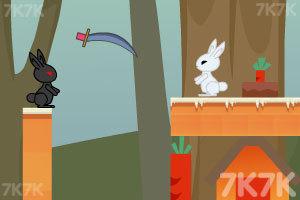 《小白兔回家》游戏画面3