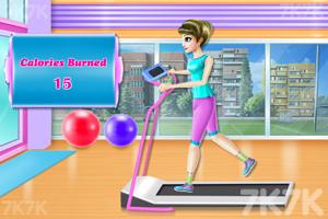《高校女生瘦身计划》游戏画面3