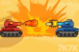 《坦克的隆隆声》游戏画面1