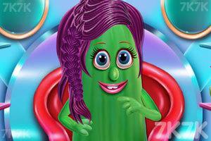 《蔬菜美发沙龙》游戏画面1