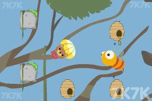 《小熊采蜂蜜》游戏画面3