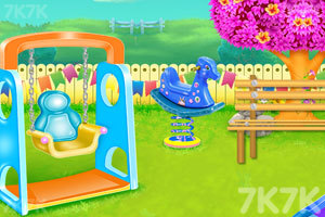 《儿童公园花园清洁》游戏画面1
