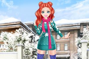 《甜美奥莉去滑雪》游戏画面2