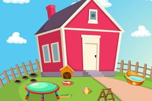 《花园中救援公主》游戏画面1