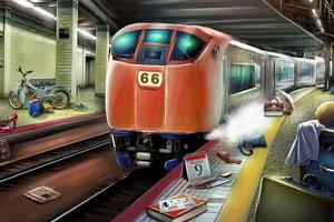 《混乱的城市地铁》游戏画面1