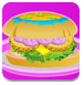 娜娜制作汉堡