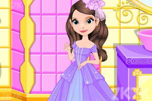 《索菲亚的新礼服》游戏画面3