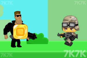 《勇敢者的攻击》游戏画面2