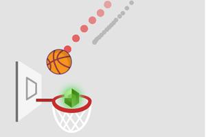 《画线篮球》游戏画面1