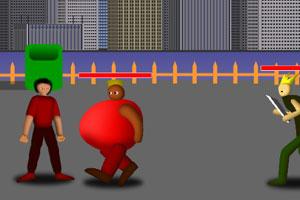 《街头打手》游戏画面1