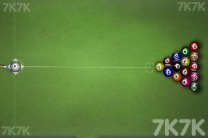 《经典台球挑战赛》游戏画面2