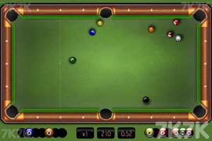 《经典台球挑战赛》游戏画面3