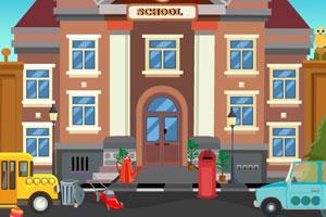 《救援学校女孩》游戏画面1