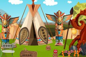 《救援原住民女孩》游戏画面1