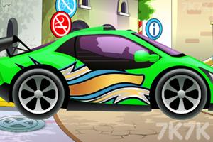 《宝宝爱洗车》游戏画面2