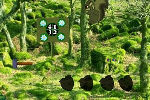 《绿松鼠森林逃脱》游戏画面1