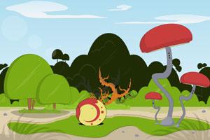 《逃离奇怪蘑菇林》游戏画面1