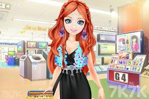 《甜美奥莉逛商场》游戏画面3