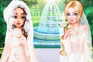《唯美时尚婚纱礼服》游戏画面2
