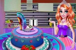 公主鞋蛋糕