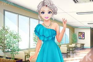 《甜美奥莉暑假逛街》游戏画面3