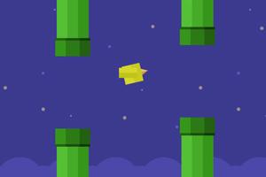 《飞扬的方块鸟》游戏画面1