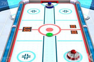 《3D冰球对抗赛》游戏画面1