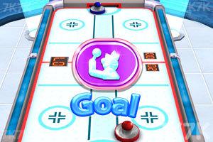 《3D冰球对抗赛》游戏画面2