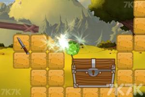 《绿钻石进宝箱》游戏画面3