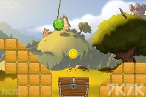 《绿钻石进宝箱》游戏画面2