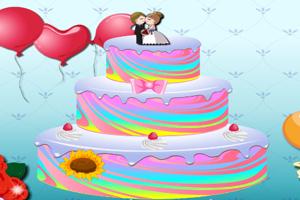 美妙的婚礼蛋糕