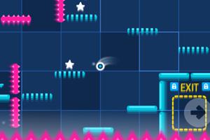 《弹跳球冒险无敌版》游戏画面1