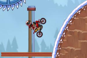 《极限摩托大挑战选关版》游戏画面1