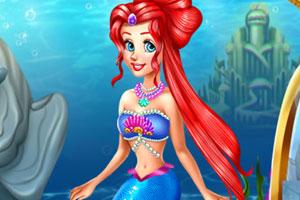 《人鱼公主温泉疗养》游戏画面1