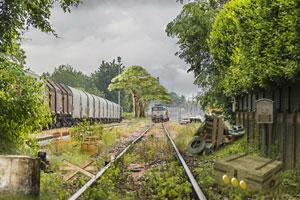 《逃离废弃火车站》截图1