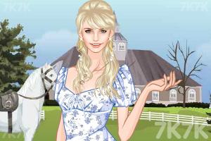 《农场漂亮女孩》游戏画面2