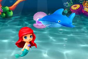 《美人鱼海底找星星》游戏画面1