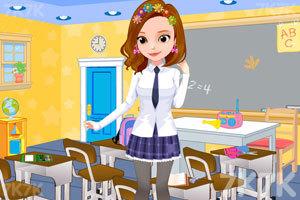 《索菲亚日系校服》游戏画面1