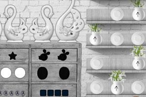 《逃出黑白宫》游戏画面1