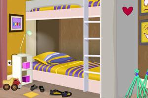 《虚荣的卧室逃脱》游戏画面1