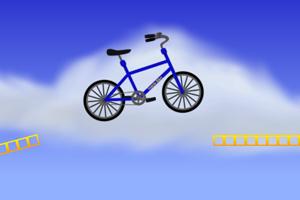 《自行车挑战赛》游戏画面1